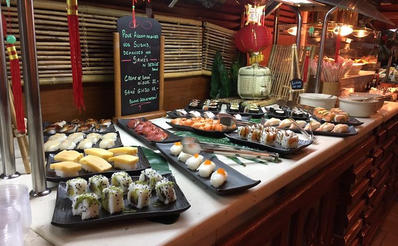 Restaurant La Lagune Sushi