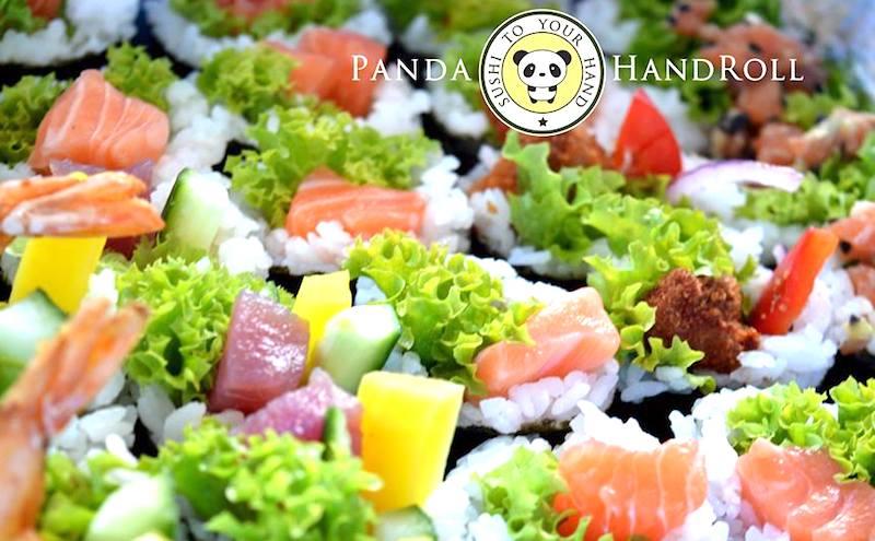 Panda Roll Sushi