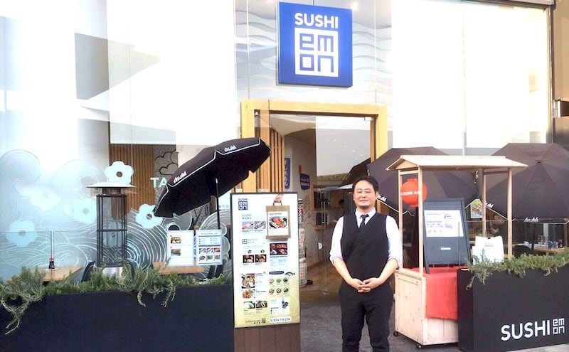 Sushi Restaurant Susiemon appearance
