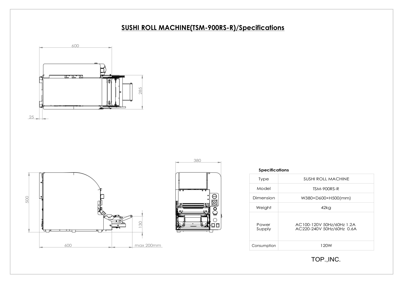 Maki-machine-TSM900RSR