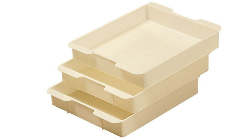 Trays for sushi rolls